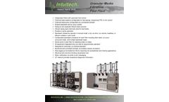 Intuitech - Standard Granular Media Filtration Pilot Plants  Brochure