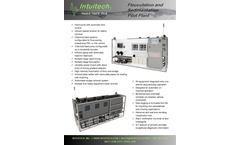 Intuitech - Standard Coagulation Flocculation & Sedimentation Pilot Plants Brochure