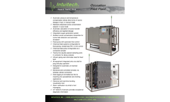 Intuitech - Standard Ozonation Pilot Plants  Brochure