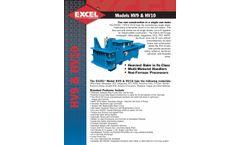 Excel - Model HV9 & HV10 - Single Ram Balers - Datasheet