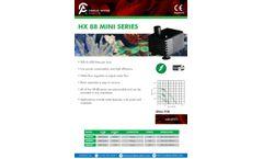 Charles-Austen - Model HX88 Series - Mini Water Pumps - Brochure
