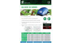 Charles-Austen - Model LD/ACO22 Series - Air Pump - Brochure