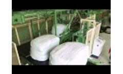 Rotowrap TT - Loading & Unloading System - Waste Bale Wrapper Wrapping Technology by PTF Häusser 015 Video