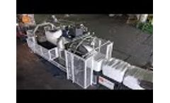 New Rotowrap WR4+4 2018 Wast Bale Wrapper - Waste Bale Wrapping Technology by PTF Häusser Video