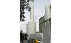 TAPC - Vertical Packed Tower Scrubbers