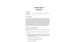 Model PN 53012B - Aflatoxin Plate Kit Brochure