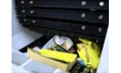 Evashred EV65E shredding phone books-Video