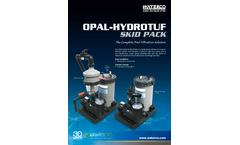 Waterco - Model Opal Hydrotuf - Filtration Skid Pack - Brochure