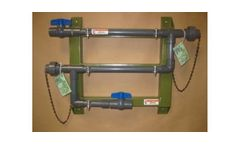 Cannon-Water - Model PCRXXX - Corrosion Coupon Rack