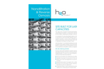 NF/RO Nanofiltration & Reverse Osmosis Systems Technical Sheet