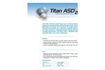 Titan ASD200 Concentrated, Liquid Reverse Osmosis Antiscalant Brochure