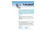 Lavasol 3 (Neutral Ph) Cellulose Acetate Liquid Membrane Cleaner Brochure