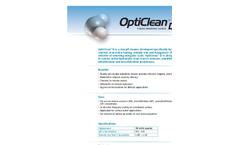 OptiClean D (Low Ph) Powder Membrane Cleaner Brochure