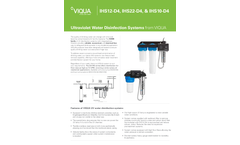 Model IHS12-D4 - Whole Home Integrated UV Water Treatment System Brochure