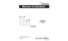 Model VT1-DWS - Tap Integrated Pre Filtration UV System Brochure
