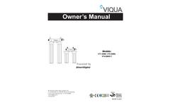 Model VT4-DWS11 - Tap Integrated Pre Filtration UV System Brochure