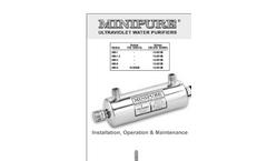 Minipure - Ultraviolet Water Purifiers Manual
