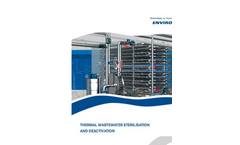 Thermal Wastewater Inactivation and Sterilisation - Brochure