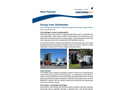 Energy from Wastewater with Biomar Biological Wastewater Treatment Brochure