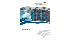 Thermal Wastewater Inactivation and Sterilisation Brochure