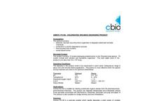 Amnite - PC100 - Chlorinated Organics Degrading Product Data Sheet