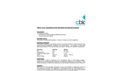 Amnite - K100 - Biochemical Pre-Treatment for Bulking Sludges Datasheet