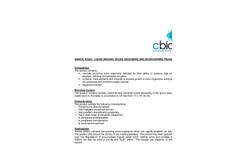 Amnite S350X - Liquid Organic Solids Degrading and Deodourising Product Datasheet