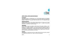 Amnite - NB500 - Nitrite Oxidation Product Data Sheet