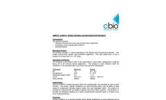 Amnite - S100KFC - Mixed Organic Solids Digestion Product Data Sheet
