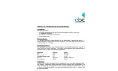 Amnite - S150L - Organic Solids Digestion Product Data Sheet