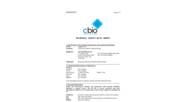 Amnite N500 - Ammonia and Nitrite Oxidation Product - MSDS