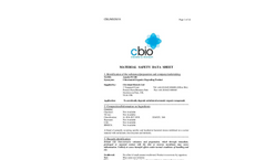 Amnite PC100 - Chlorinated Organics Degrading Product - MSDS