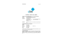 Amnite S300 (Bacsock) - FOG and Organic Solids Degrading Product MSDS
