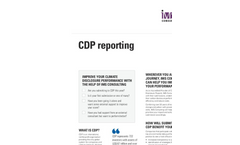 CDP Reporting Brochure