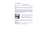 Ozone Instruction Sheet
