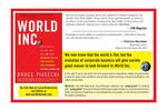 World Inc. - Postcard