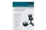 Floating Intake Oil Skimmer Brochure