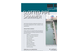 Slotted  Pipe Skimmer Brochure
