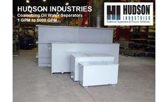 Hudson Industries - Coalescing Oil Water Separator