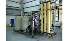 Water Treatment System for Food and Drinking Water Applications