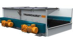 TYRANNOSAURUS - Model 1500 - Fines Screens