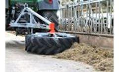 Holaras - Model Octo 1500 - Cattle Feed Sweeper Wheel