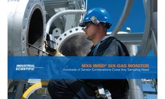 Industrial Scientific MX6 iBrid Six-Gas Monitor - Brochure