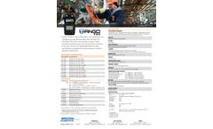 Tango - Model TX2 - Two-Gas Detector - Specification Sheet