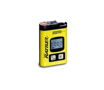 Industrial Scientific - Model T40 Rattler - Portable Single Gas Detector