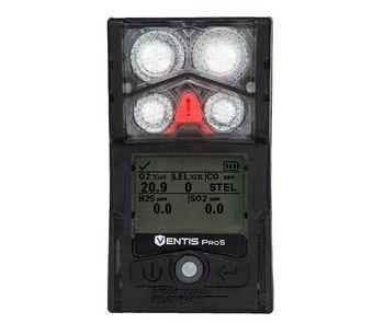 Industrial Scientific - Model Ventis Pro5 - Personal Multi-Gas Monitor
