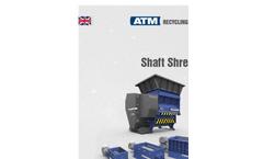 Arno Shred - Model SS - Single Shaft Shredder Brochure