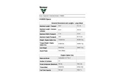 Vermeer - HG8000 - Horizontal Grinder Specifications