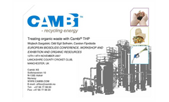 Treating organic waste with Cambi® THP Presentation