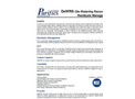 Purifics DeWRS - DeWatering Recovery System - Brochure